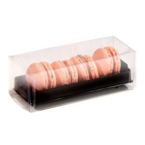 Four Piece Macaron Gift Box for Retail Display Case
