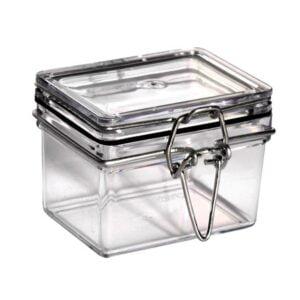 Locking Lid Rectangle Jar
