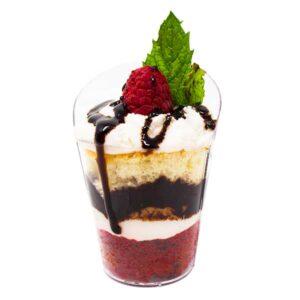 Filled Dessert Catering Cup Idea