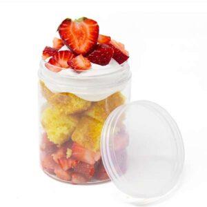 Disposable Mini Mason Jar