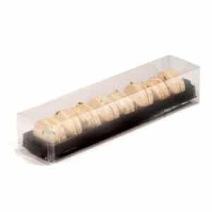 Eight Piece Macaron Box for Elegant Retail Macaron Retail